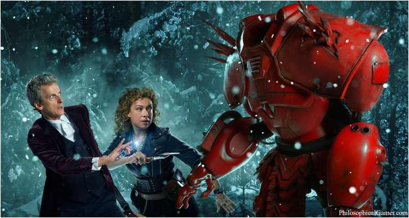 Doctor Who & quot; The Husbands Of River Song & quot; recension