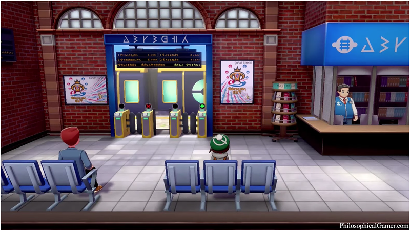 Pokemon Sword and Shield visar upp en ny stad under Gamescom, med en tågstation och massor av Wooloos