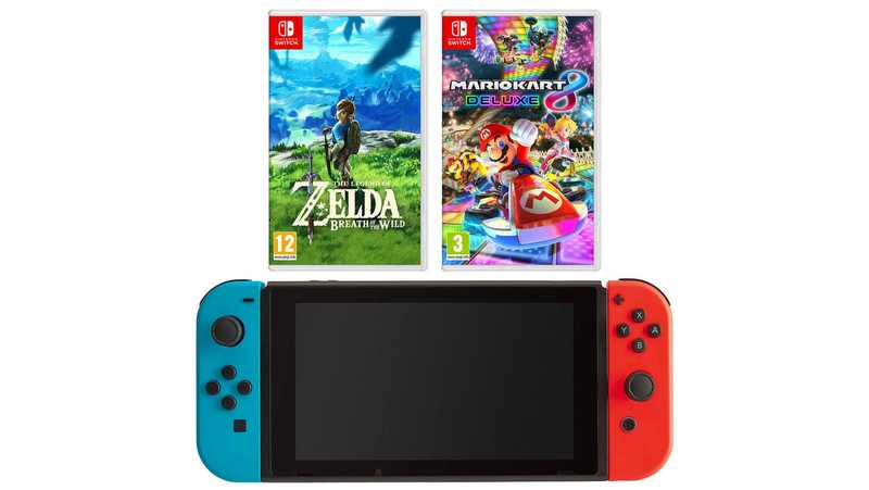 Nintendo Switch Black Friday erbjudanden 2019 Storbritannien
