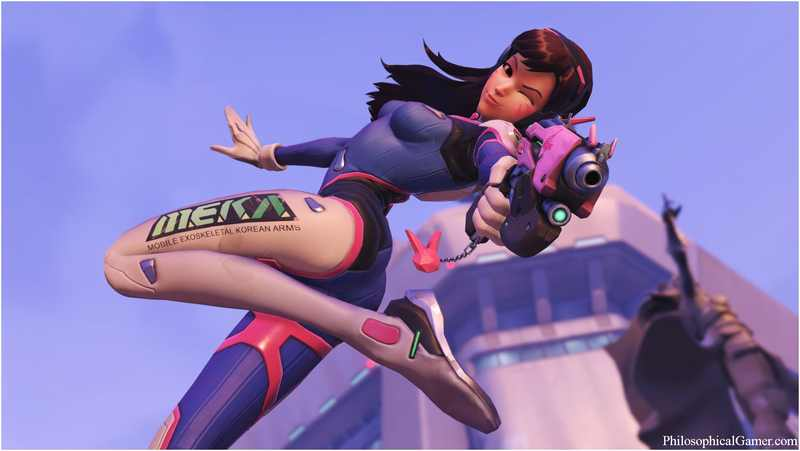Overwatch fungerar lika bra som en anime-introduktion
